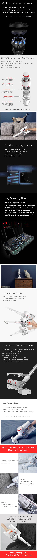 Xiaomi Dreame Wireless Vacuum Cleaner