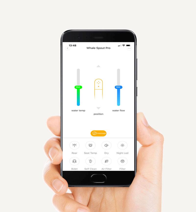Xiaomi Uclean Whale Spout Smart Toilet Seat Pro with Mobile APP AU Version