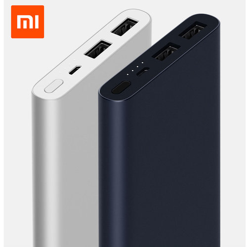 New Xiaomi Mi Power Bank 2S 10000mAh Dual USB Quick Charge Portable Battery