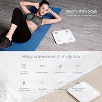 Xiaomi Bluetooth 4.0 Mi Smart Body Composition Scale Body Fat Analyzers White