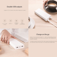 Xiaomi Mi Power Bank 2C 20000mAh Quick External Phone Portable Battery Charger