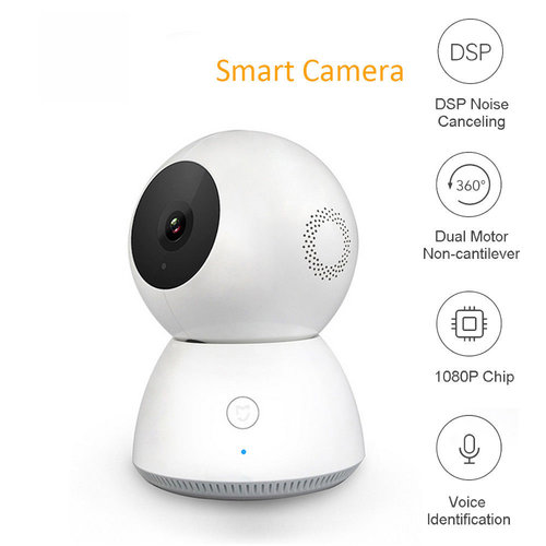 Xiaomi 360 Degree Panorama Wireless 1080P Smart IP Camera - WHITE