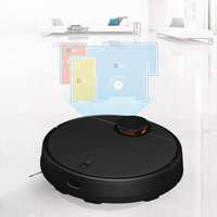 Xiaomi Mijia STYJ02YM 2 in 1  Robot Vacuum Cleaner Mopping 2nd Generation - Black