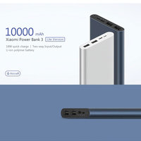 Xiaomi Mi Power Bank 3 10000mAh PLM13ZM Dual USB 18W Fast Charging